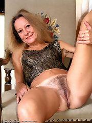 Mature women strip