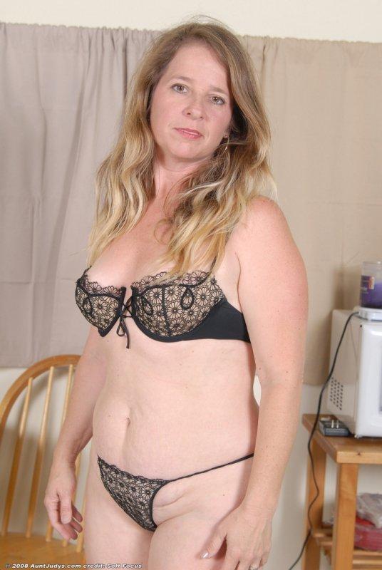 Chubby milf lingerie